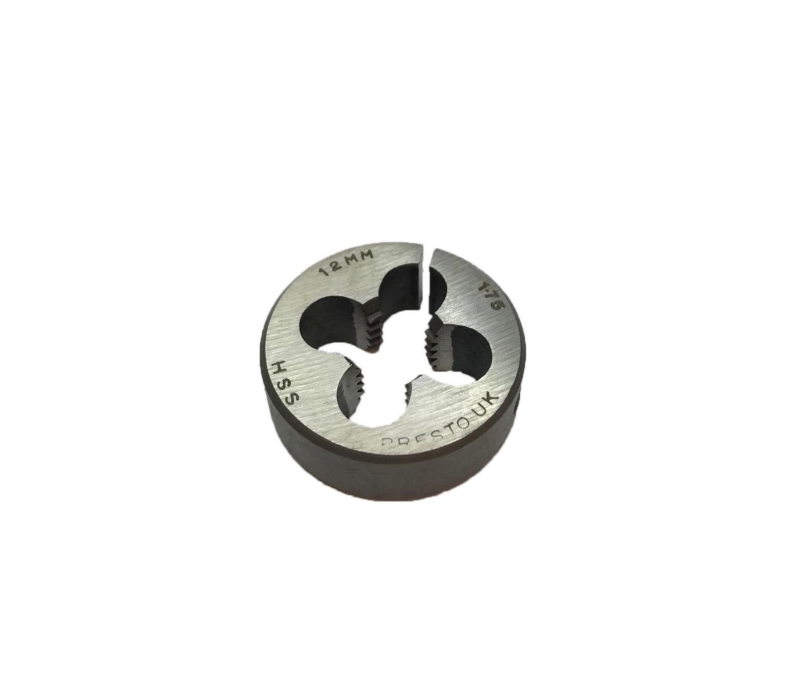 New Presto UK HSS Split Die M10 x 1.5 Circular Threading Die Metric 10mm  Myford