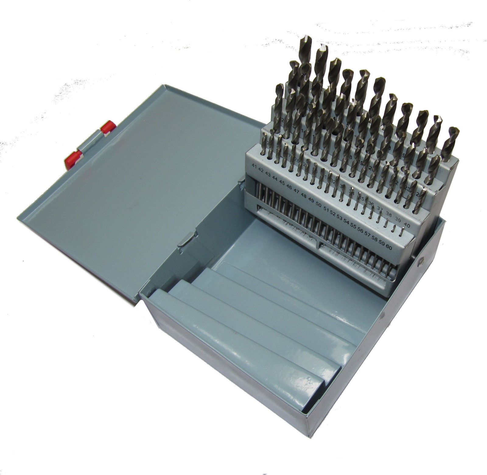 Model engineering and engineering tools online from rdg tools ltd 60 piece wire gauge size drill set 1 60 drills greentooth