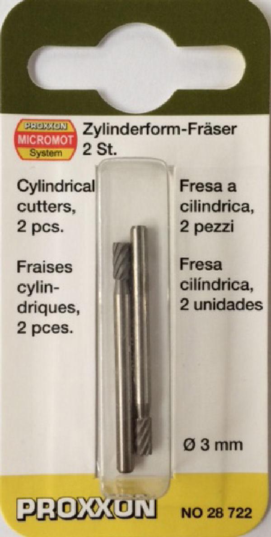 Proxxon cylindre Fraise 8,0 mm 28726