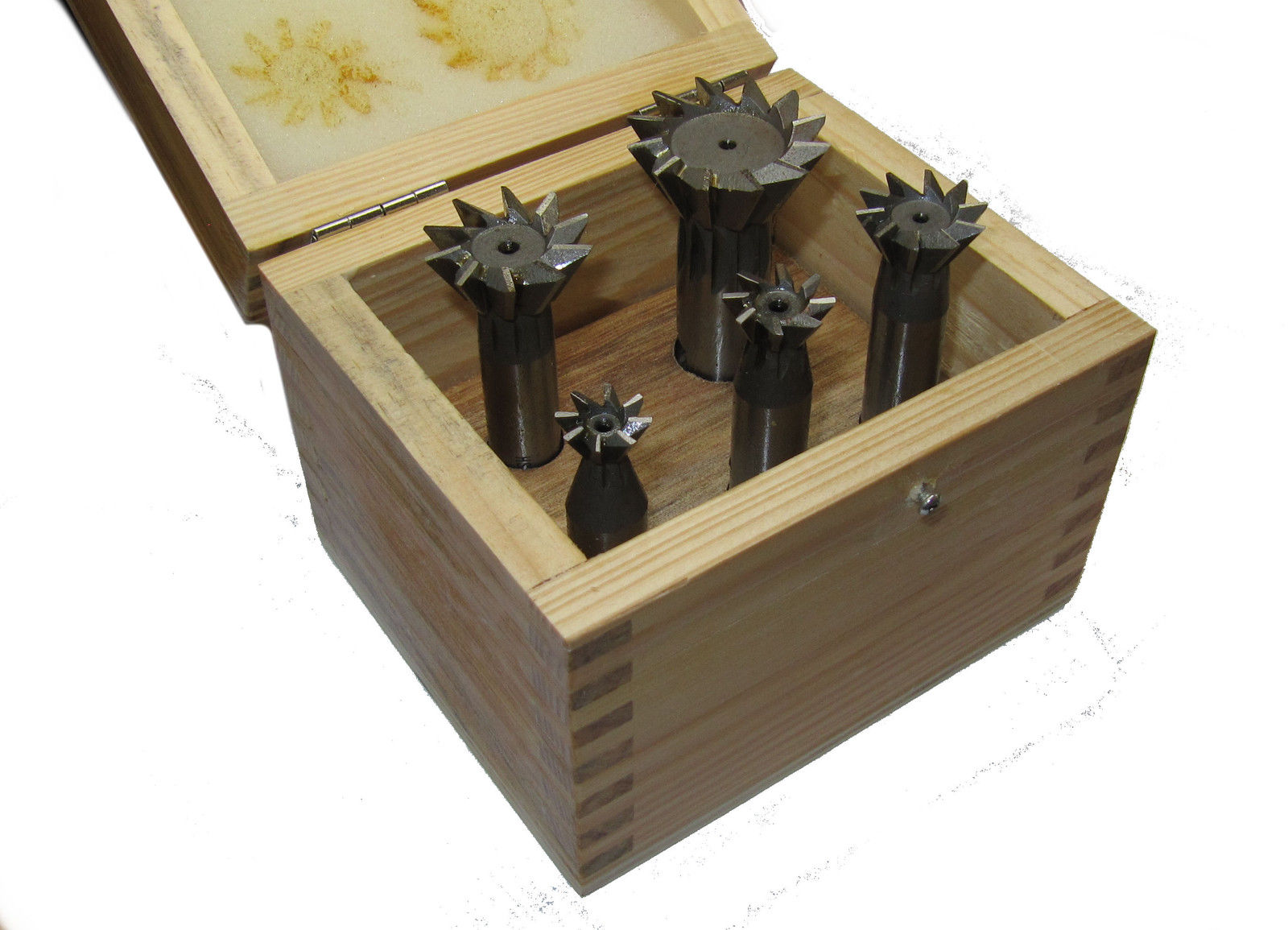 """RDGTOOLS DOVETAIL CUTTERS VARIOUS SIZES 45 AND 60 DEGREES 3//8/"""" 1/"""" MILLING TOOL"""