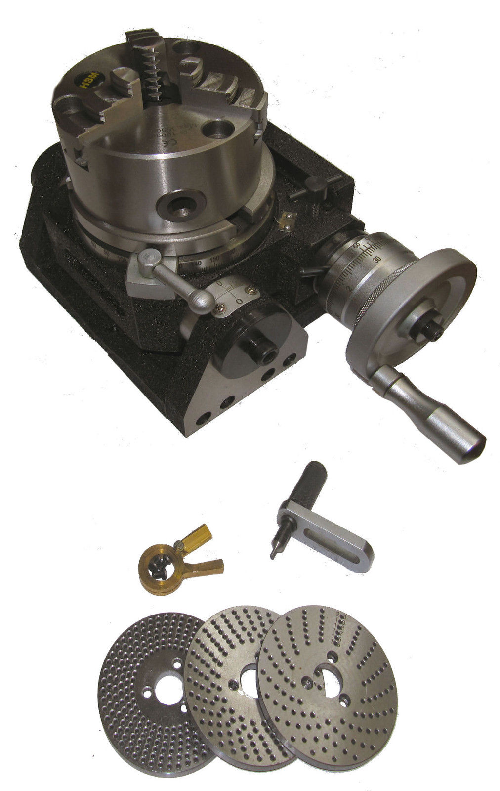"""100 mm Tilting Rotary Table for Milling Metal Working 4/"""" Inches Engineering"""