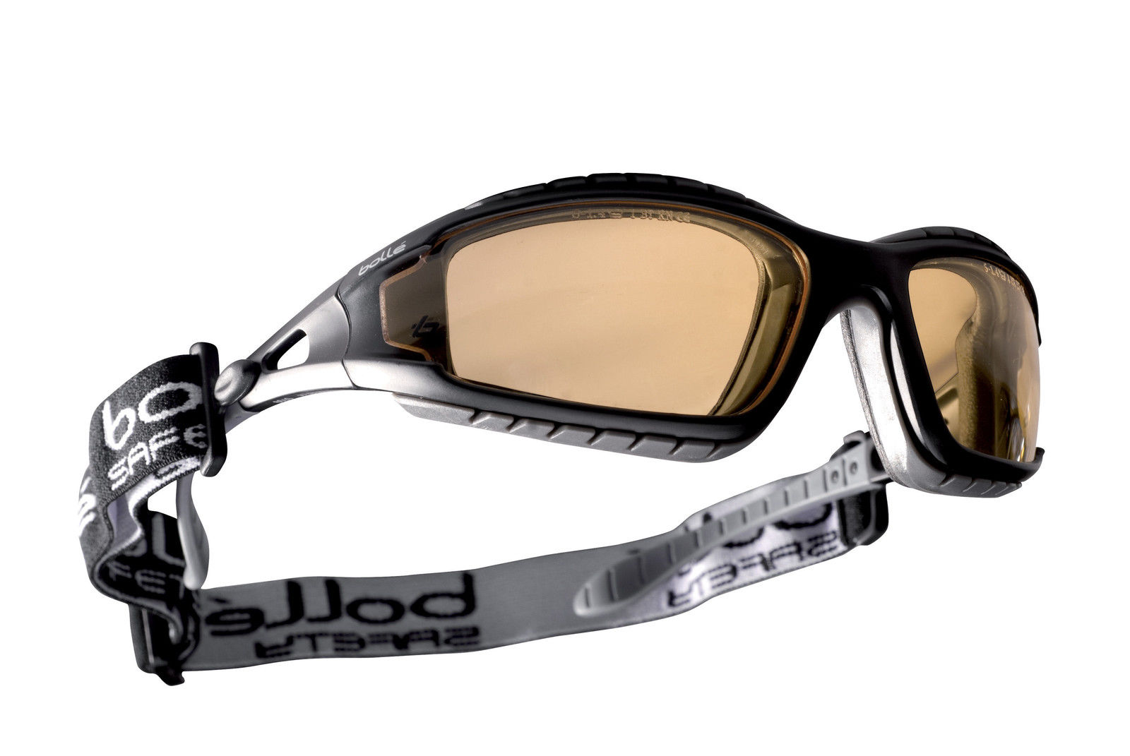 e80d687fa149c Bolle Tracker II 2 Safety Glasses Goggles Anti Mist and Scratch Yellow